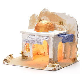 Arabian cabin, Neapolitan Nativity 31x36x30cm s3
