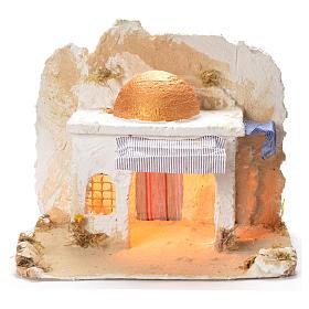 Arabian cabin, Neapolitan Nativity 31x36x30cm s1