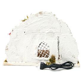 Neapolitan Nativity 30x28x30cm Arabian cabin s4