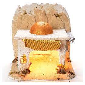 Cabane arabe pour crèche de Naples 35x35x35 cm s1