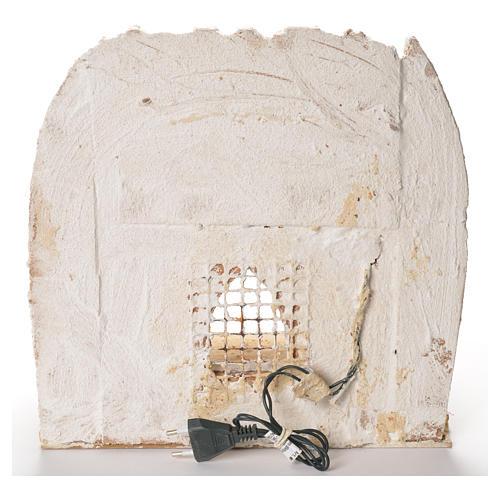 Cabane arabe pour crèche de Naples 35x35x35 cm 4