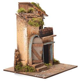Maison crèche napolitaine 26x20x19 cm s2