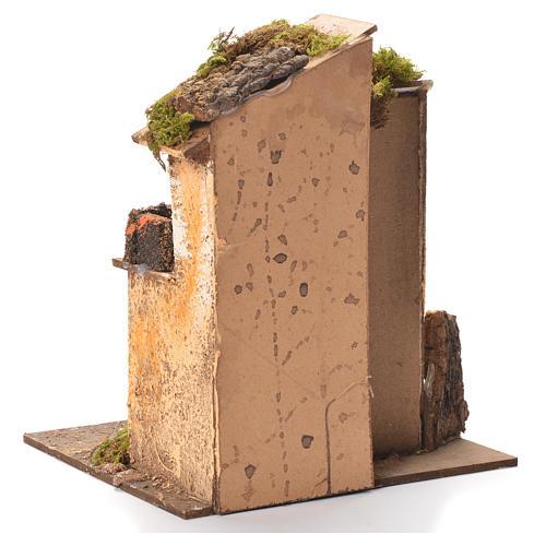 Maison crèche napolitaine 26x20x19 cm 3