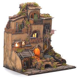 Village crèche en style 1700 Naples 45x35x33 cm s2