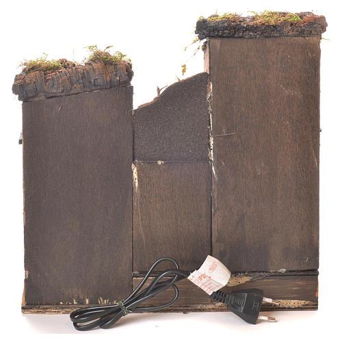 Kamienica z piekarnią szopka styl wiek XVII 35x30x30 4