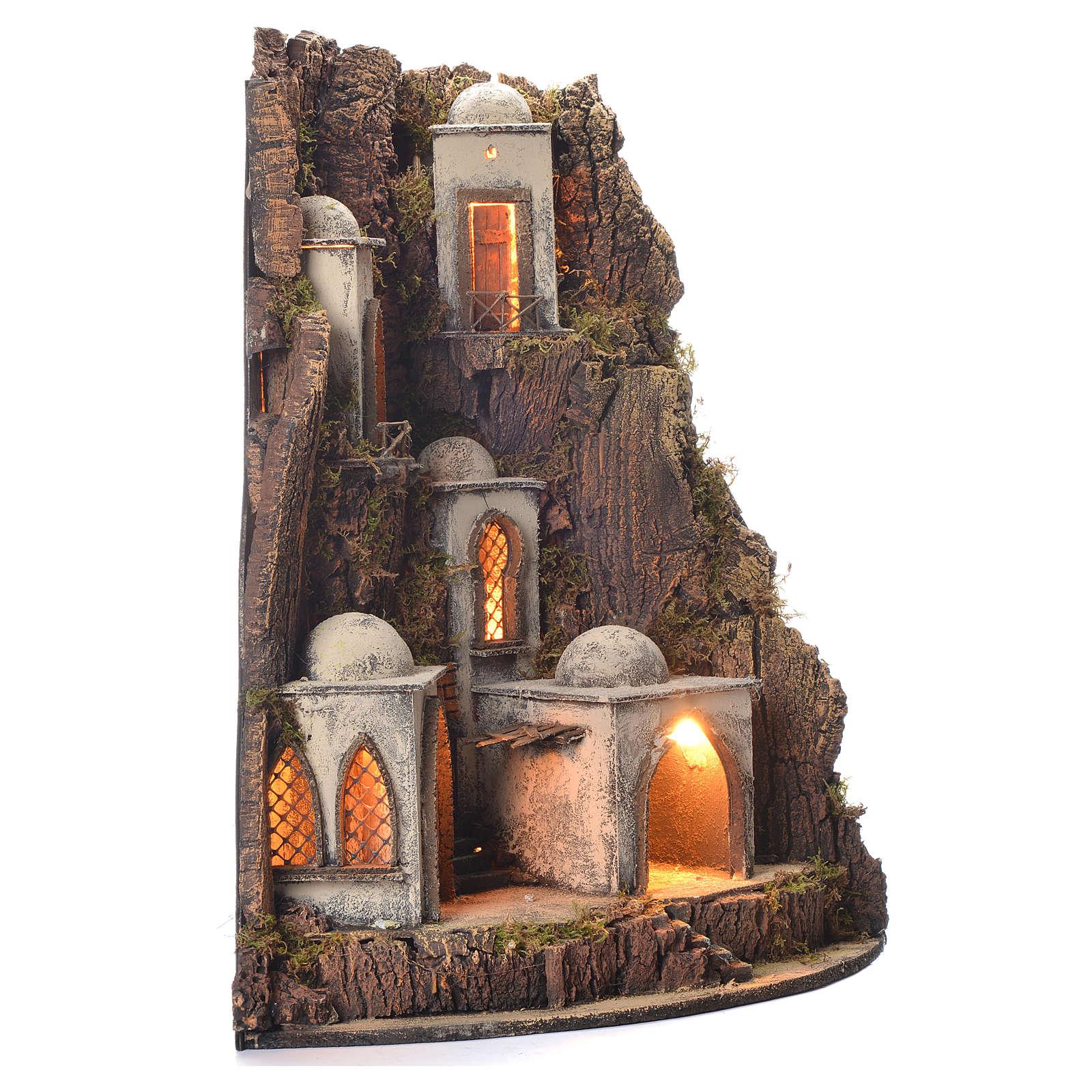Borgo presepe 700 stile arabo 65x45x50 4