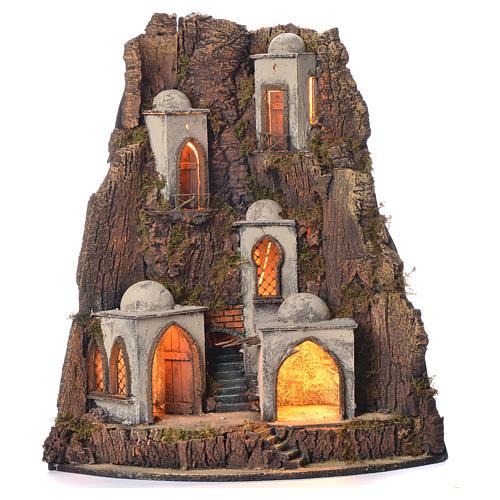 Borgo presepe 700 stile arabo 65x45x50 1