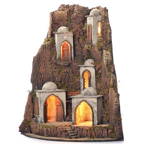 Borgo presepe 700 stile arabo 65x45x50 3