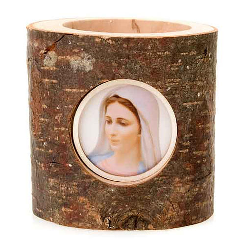 Madonna Christmas Trunk Candle Holder 1