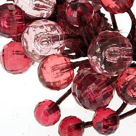 Anillo decoración bayas glitter s6