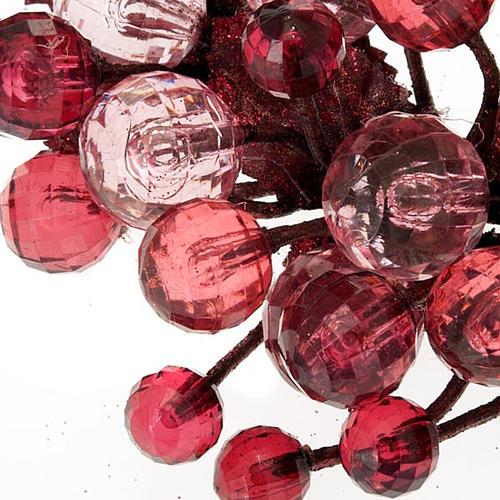 Anillo decoración bayas glitter 6