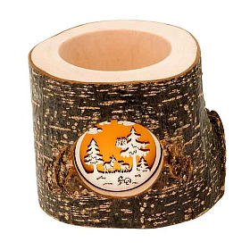 Christmas Trunk Candle holder s1