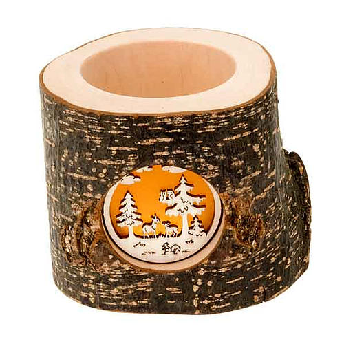 Christmas Trunk Candle holder 1