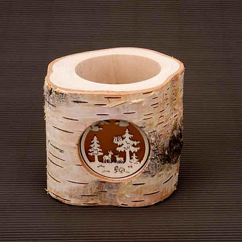 Christmas Trunk Candle holder 3