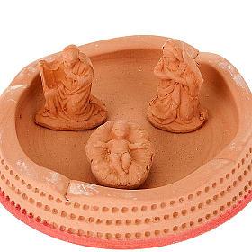 Nativity set terracotta bell s3
