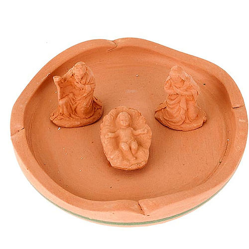 Nativity set terracotta jar-bell 3