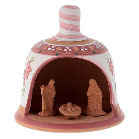 Nativity set Little-bell clay nativity s6