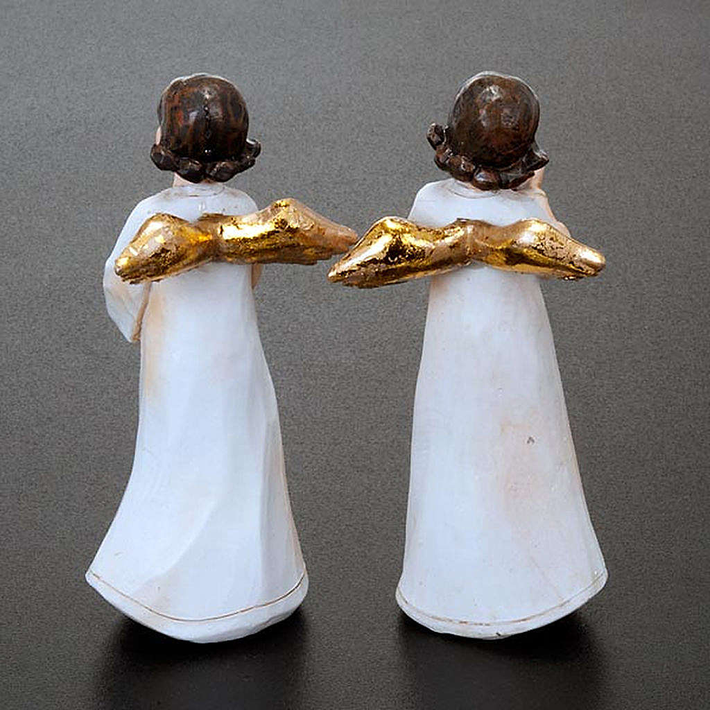 Estatuillas ángeles 4 piezas 3