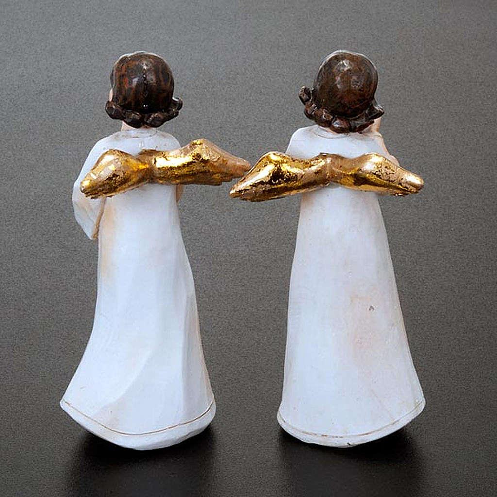 Statuettes anges 4 pièces 3