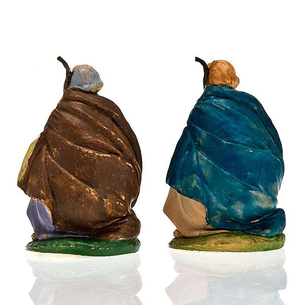 Nativity scene, Saint Joseph on his knees figurine 3