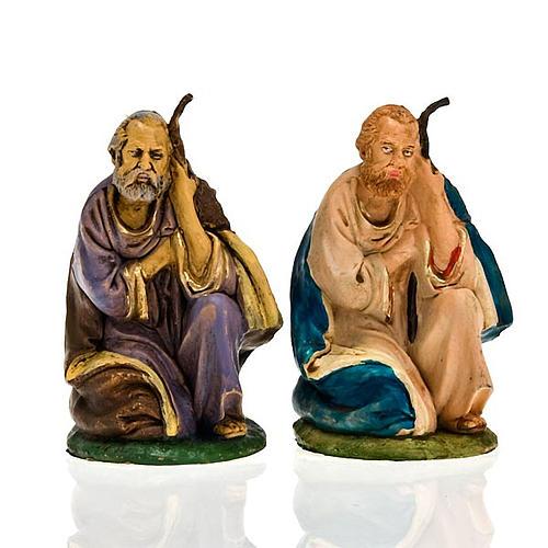 Nativity scene, Saint Joseph on his knees figurine 1