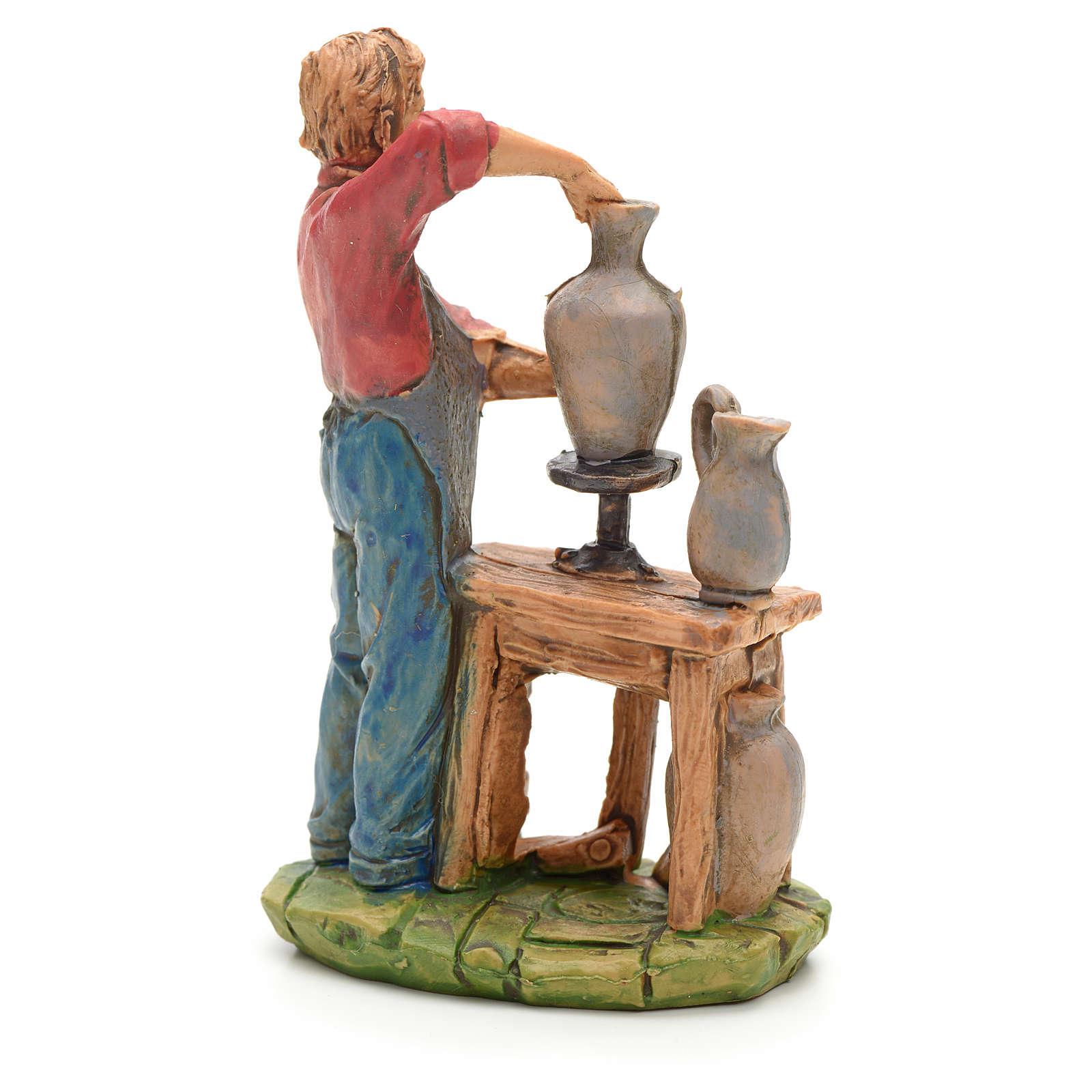 Potier avec tour 10 cm 3