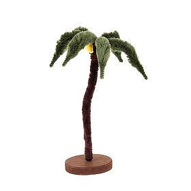 Palma singola con base legno presepe fai da te s1