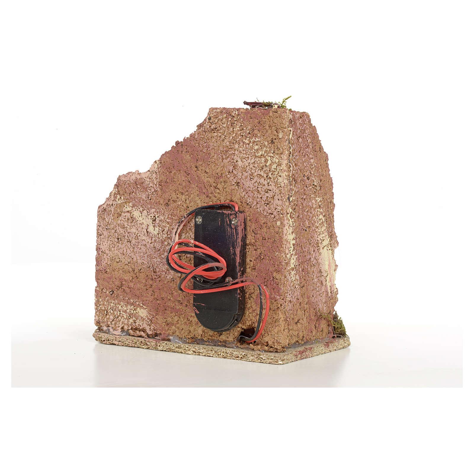 Horno de madera a batería para pesebres 4