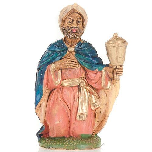 Nativity scene, creole wise man figurine 10 cm 1