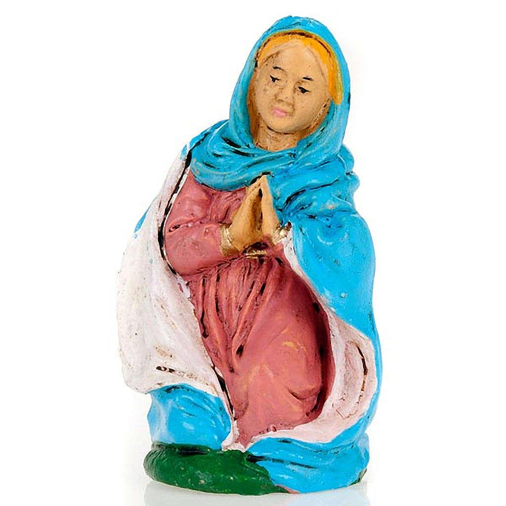 Maria inginocchiata 10 cm 3