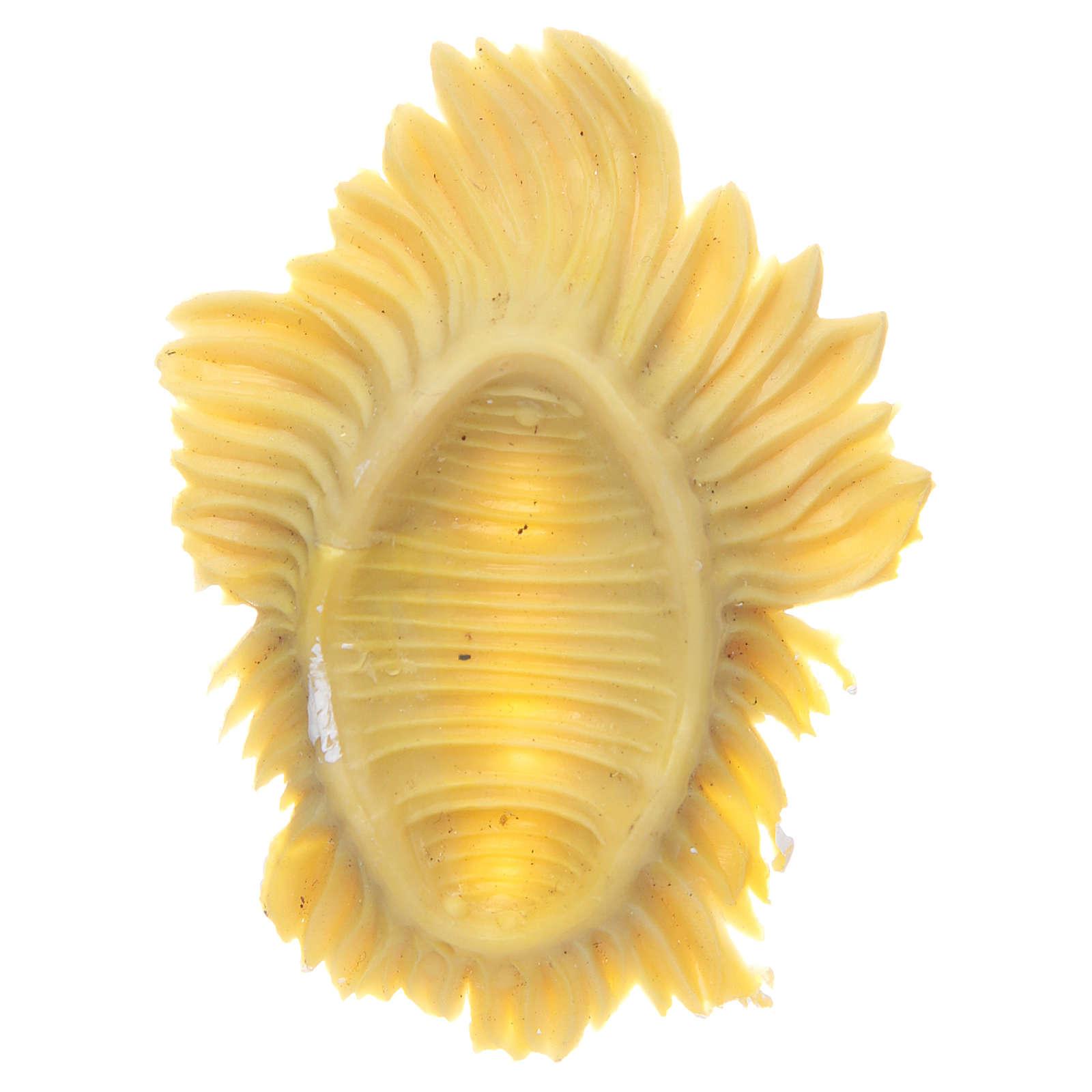 Bambinello resina per presepi 8 cm 3
