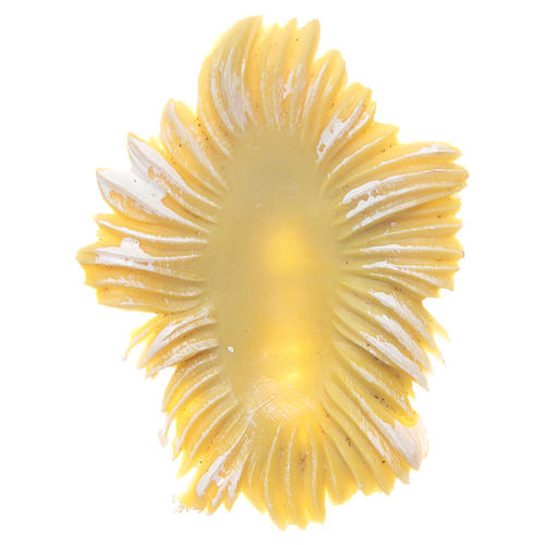 Bambinello resina per presepi 8 cm 4