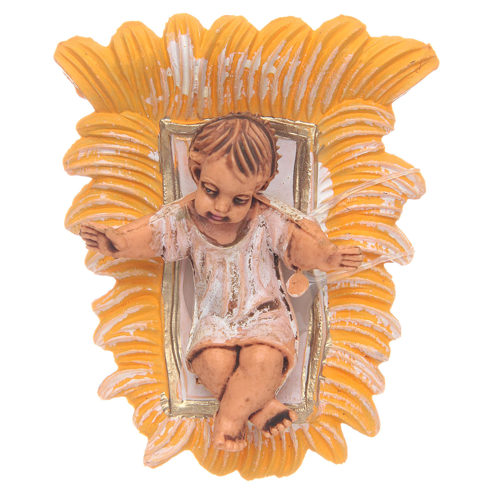 Enfant Jésus résine 10 cm 3