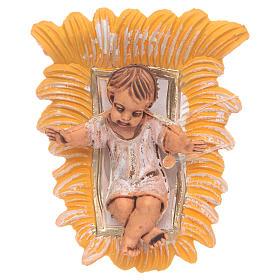 Enfant Jésus résine 10 cm s1