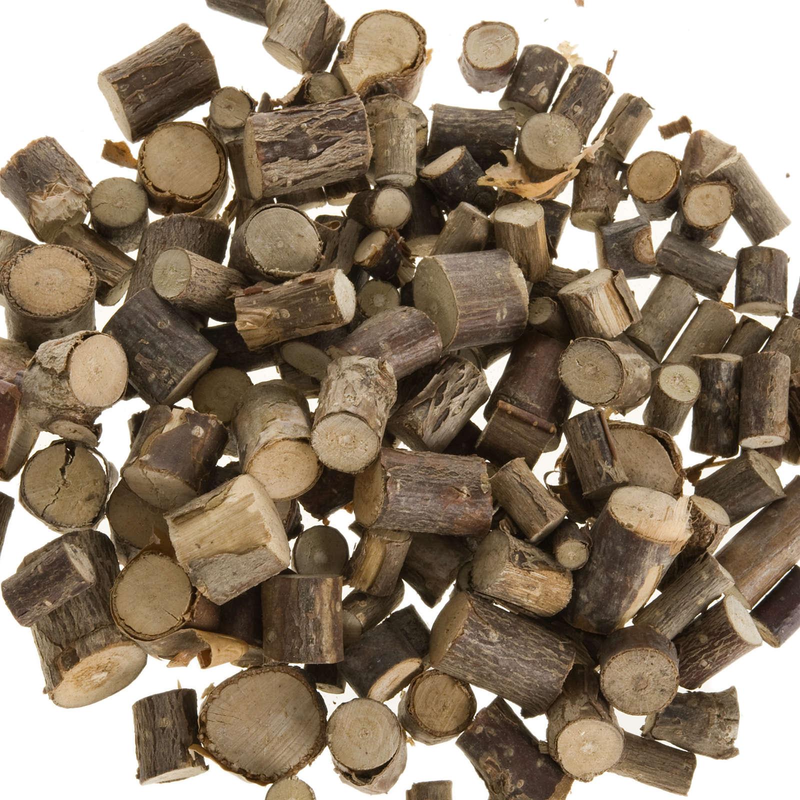 Set tronchetti di legno presepe fai da te 4