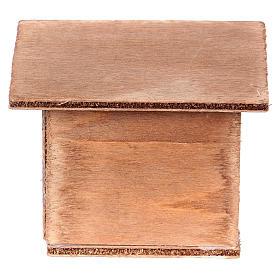 ESTOCK Doble conejera para el pesebre en madera s3