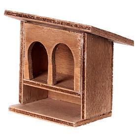 Double rabbit-hutch for Nativity Scene 8 - 10cm s2