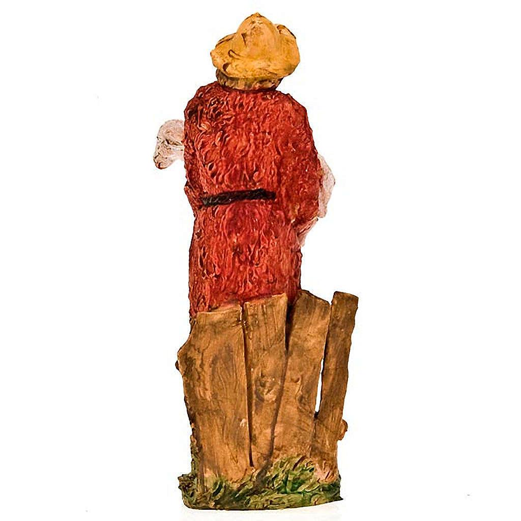 Paysan avec mouton dans les bras, 13 cm 3