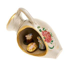 Nacimiento en un jarrón, decorado s2