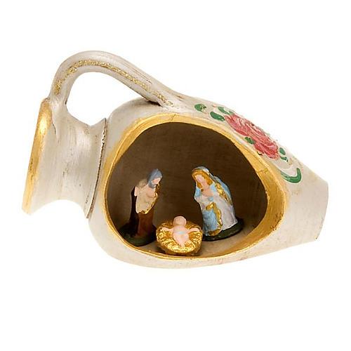 Nacimiento en un jarrón, decorado 3