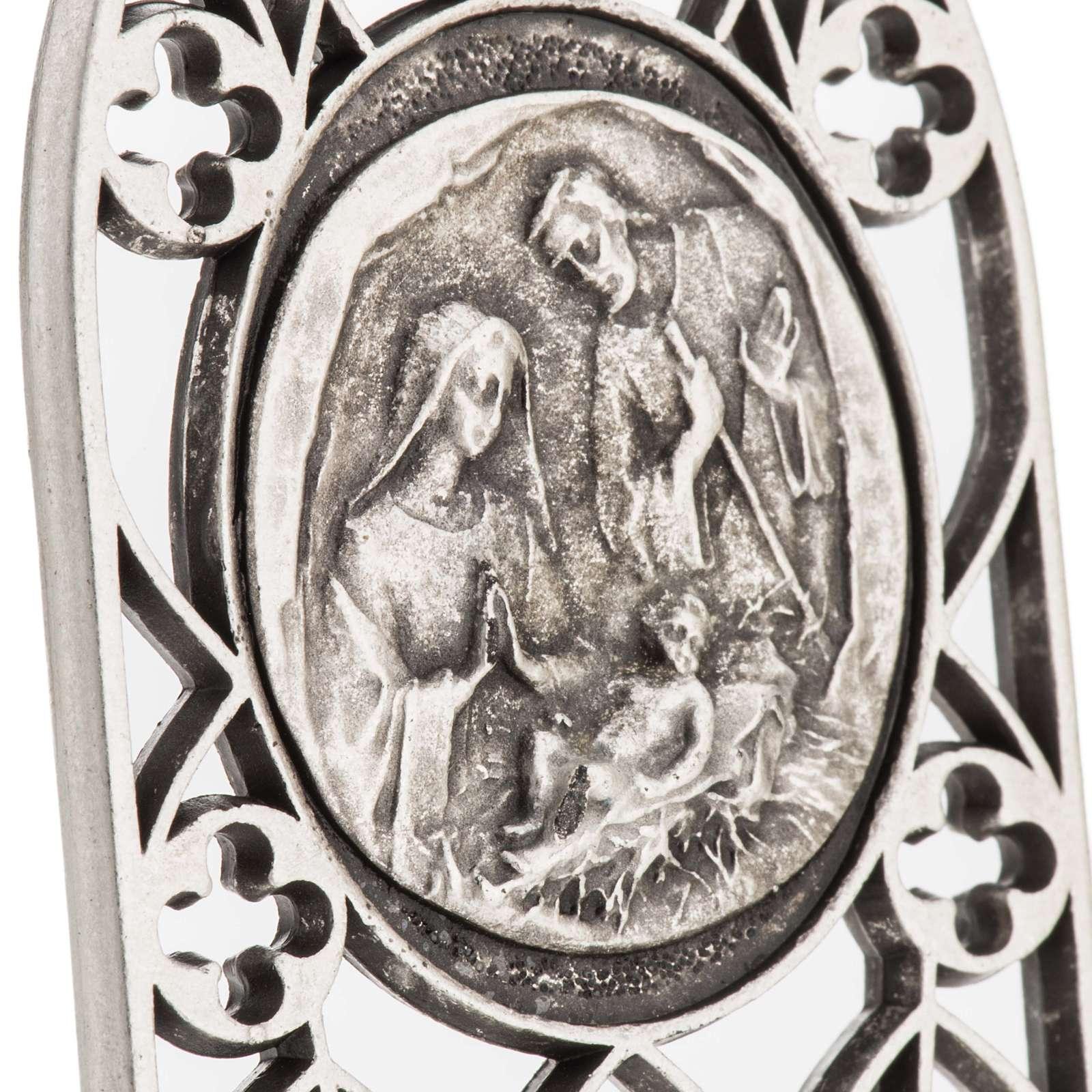 Sainte Famille petit carreau décoré 3