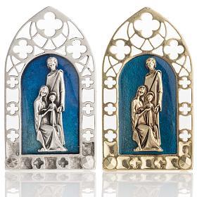 Enfeites de Natal para a Casa: Sagrada Família ornamento gótico