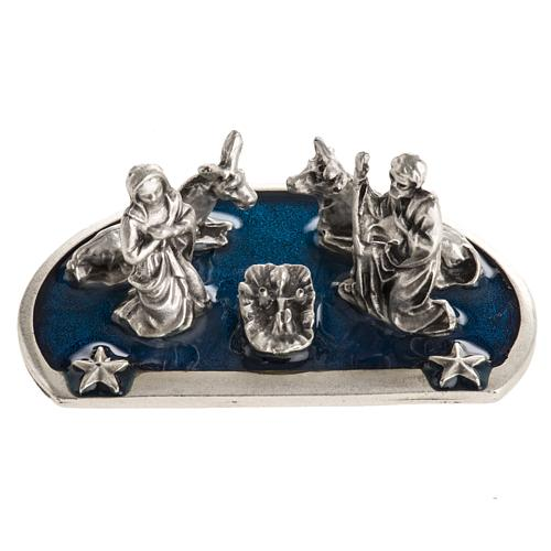 Nativity, 5 characters in zamak, H3cm 4