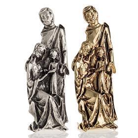 Enfeites de Natal para a Casa: Silhueta Sagrada Família 7x2 cm