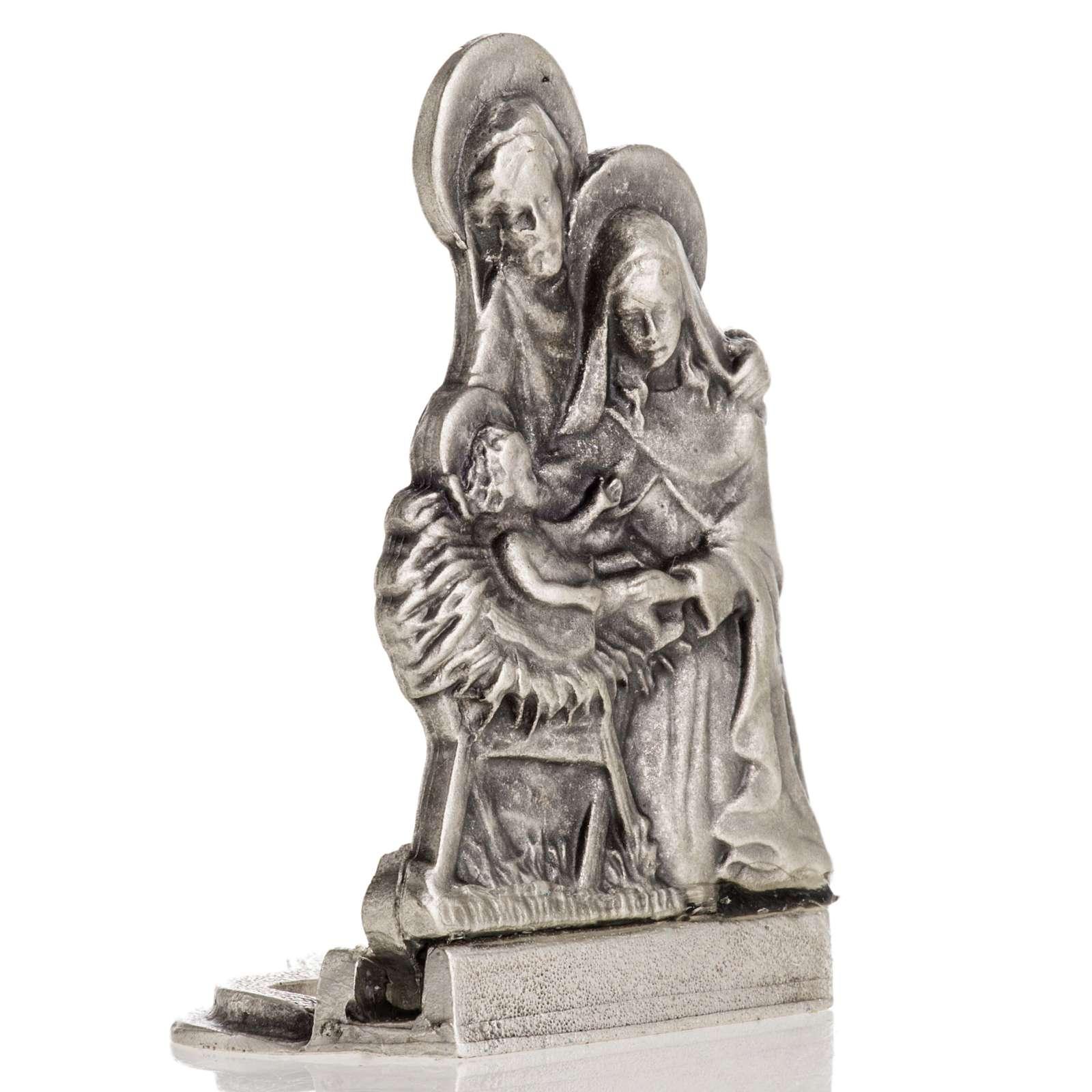 Figura de la Sagrada Familia 5,5x3 cm 3