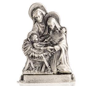 Enfeites de Natal para a Casa: Silhueta Sagrada Família 5,5x3 cm