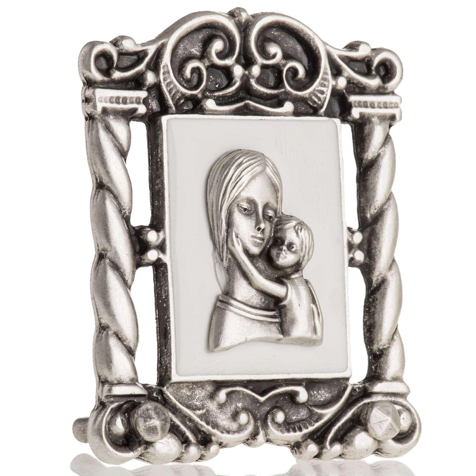Obrazek Maryja z Dzieciątkiem 6x5 cm 3