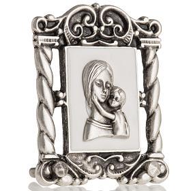 Obrazek Maryja z Dzieciątkiem 6x5 cm s3