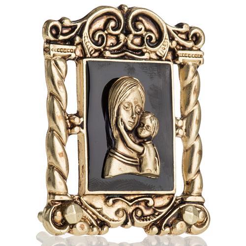 Obrazek Maryja z Dzieciątkiem 6x5 cm 2