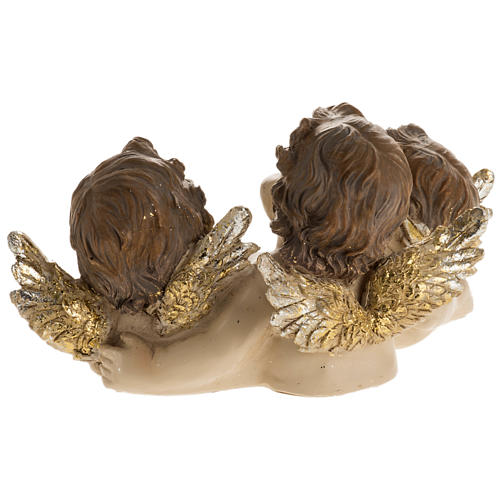 Trois anges avec livre décor de noël 4